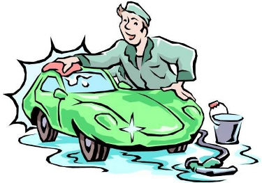 Mobile Car Wash Clipart.