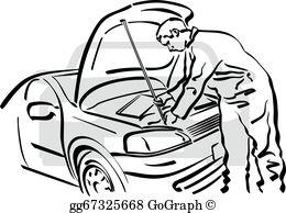 Auto Repair Shop Clip Art.