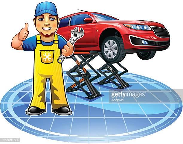 60 Top Auto Mechanic Stock Illustrations, Clip art, Cartoons.