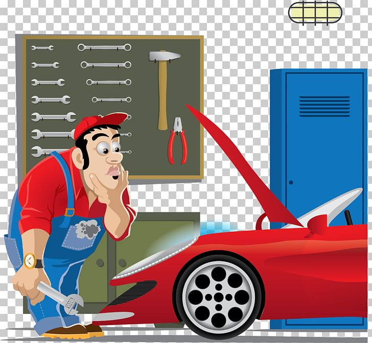 Auto mechanic Car , car repair PNG clipart.