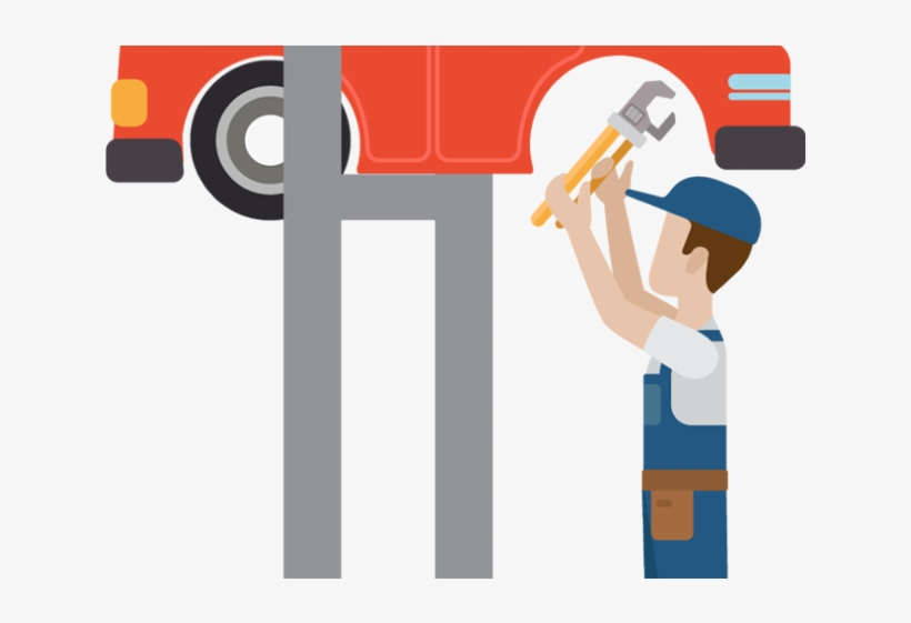 Car Mechanic Clipart.