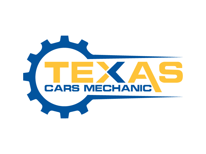 Masculine, Bold, Auto Repair Logo Design for Texas Cars.