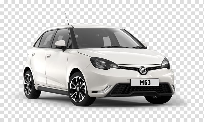 MG 3 MG 6 Car MG 7, whole body transparent background PNG.