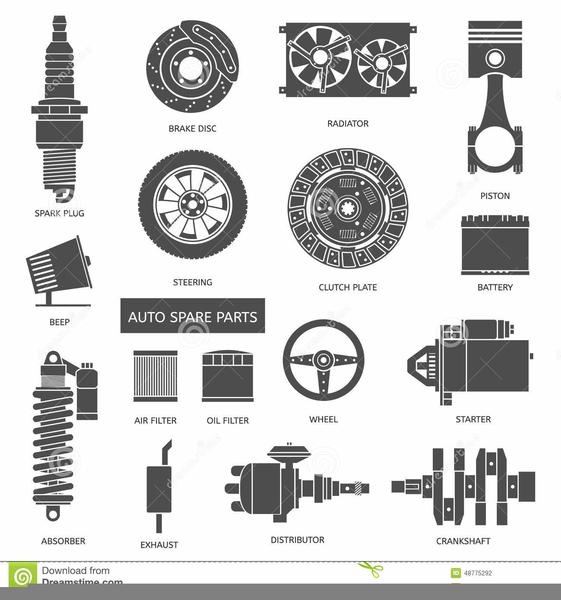 Free Auto Parts Clipart.