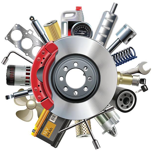 Top 60 Car Parts Clip Art, Vector Graphics and Illustrations.
