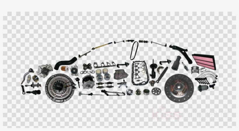 Car Parts Clipart Car Image Auto Parts Spare Part PNG Image.