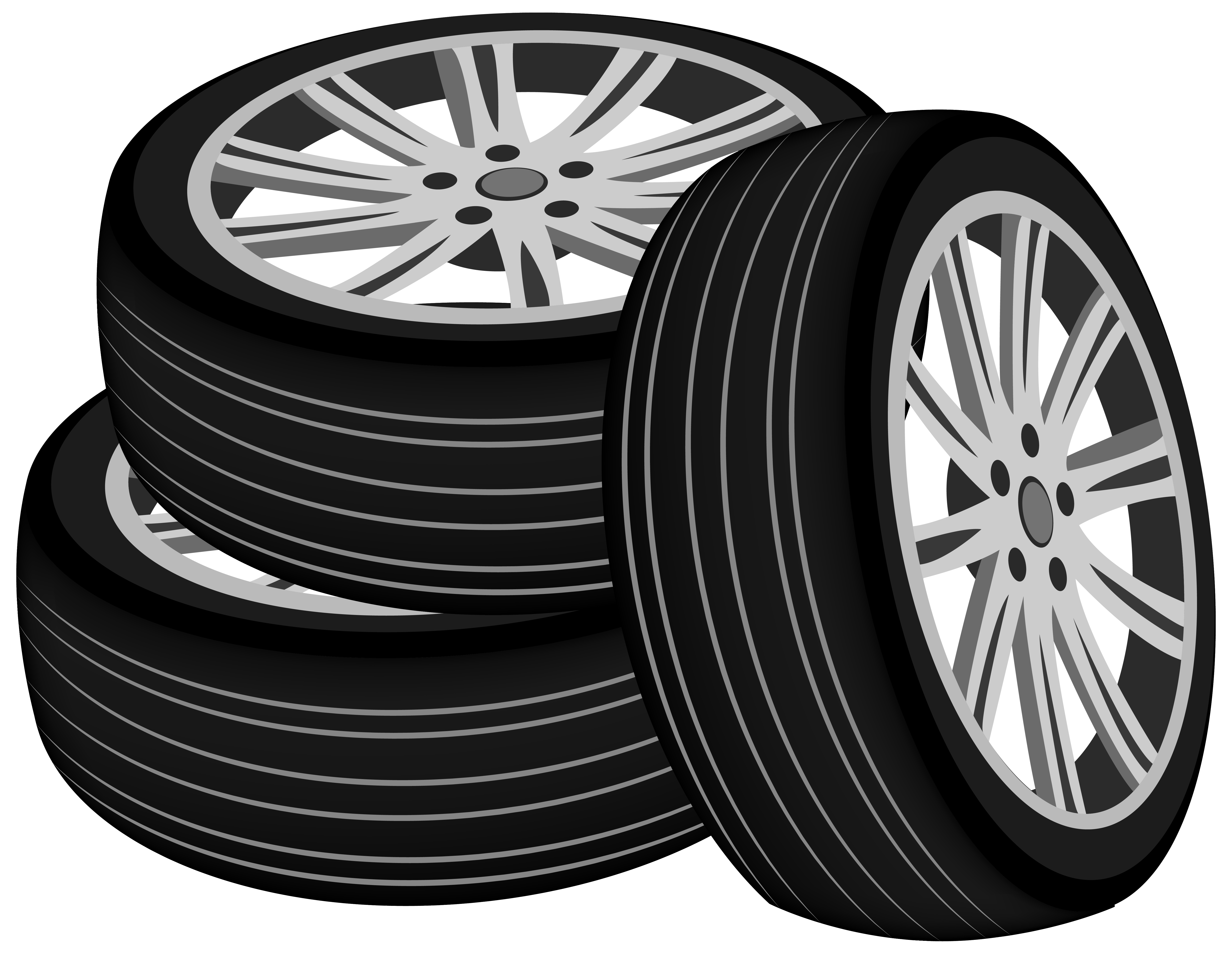 Tires PNG ClipArt.