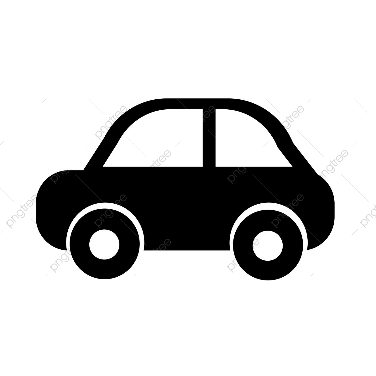 Car Icon, Abstract, Auto, Automobile PNG and Vector with Transparent.