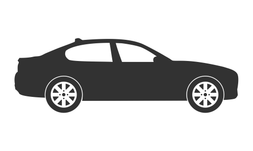 Auto, automobile, car, sedan, vehicle icon.