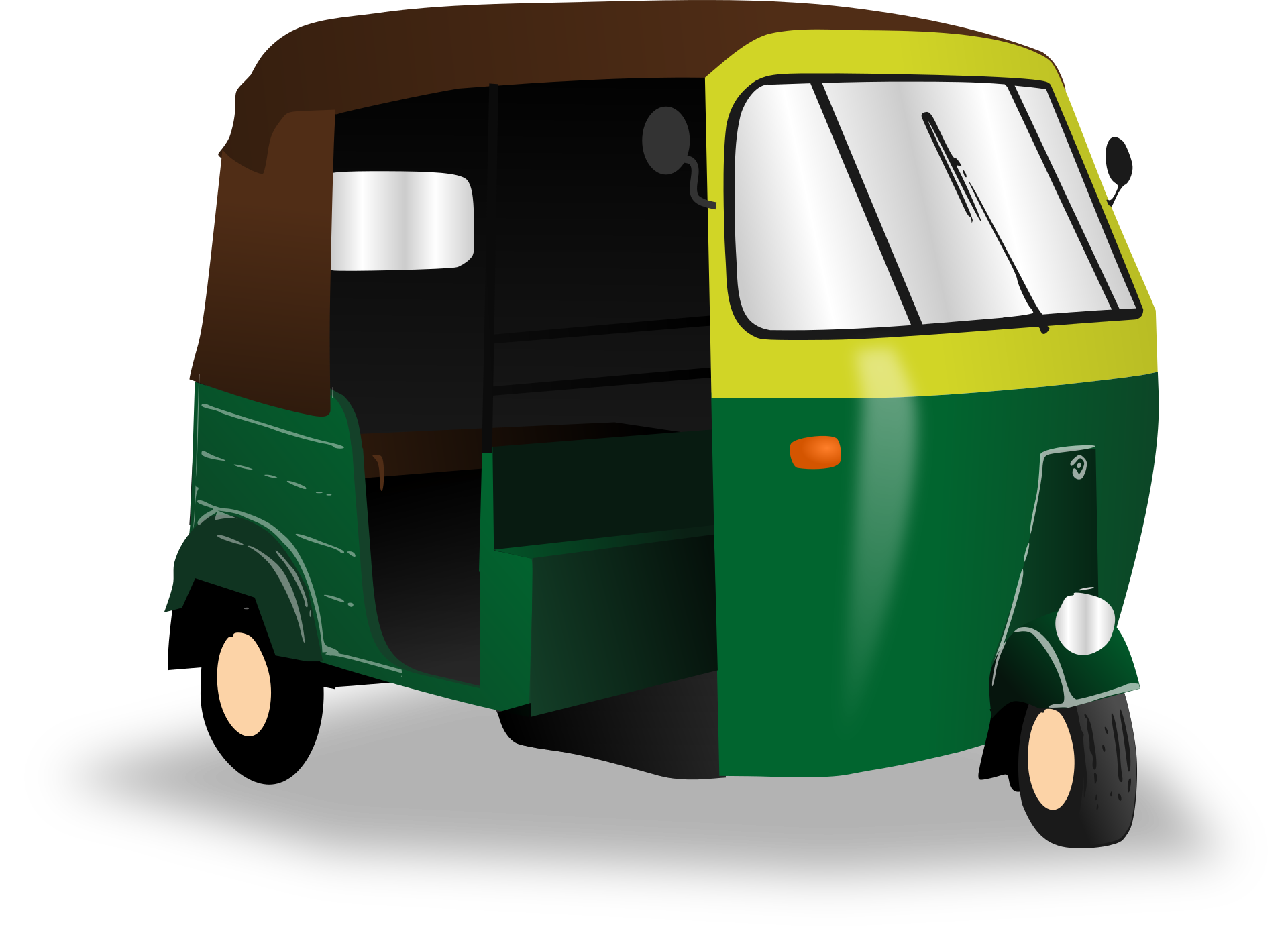 Auto Rickshaw PNG Images Transparent Free Download.