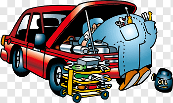Vehicle Repair Workers cutout PNG & clipart images.