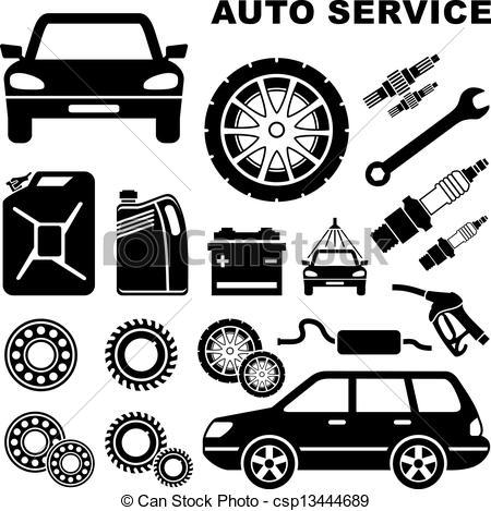 15 Auto Repair Vector Art Images.