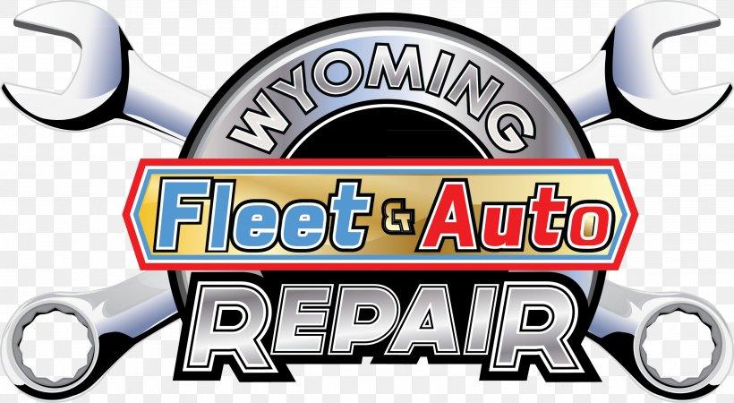 Wyoming Fleet & Auto Repair Car Sheridan Logo Automobile.