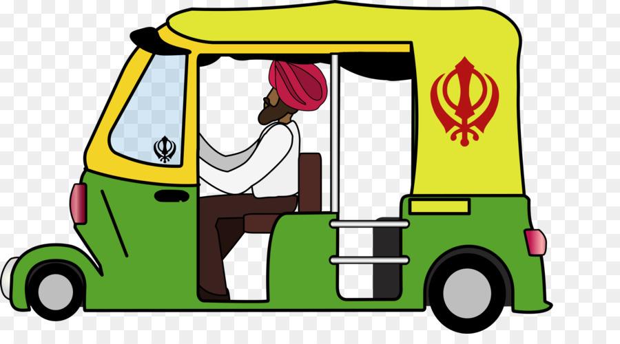 Auto Rickshaw.
