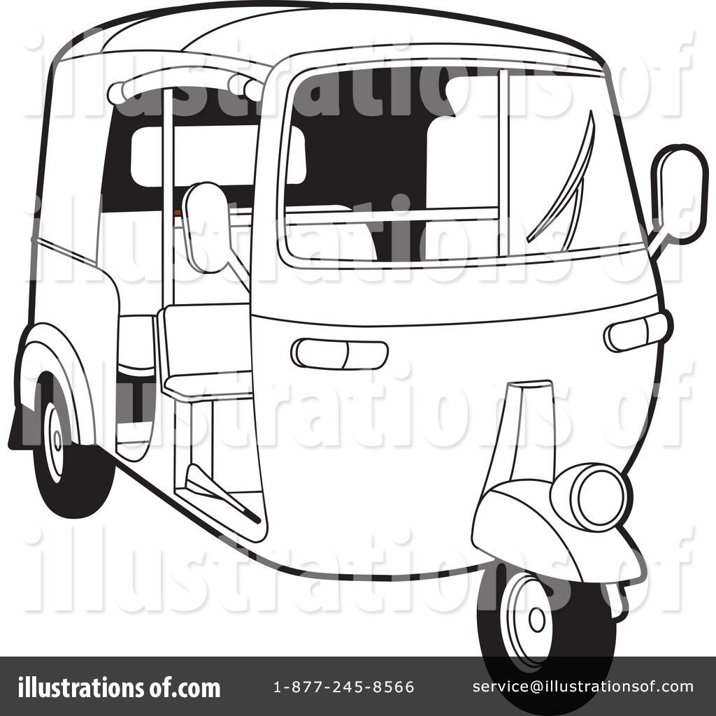 Auto rickshaw clipart black and white 3 » Clipart Station.
