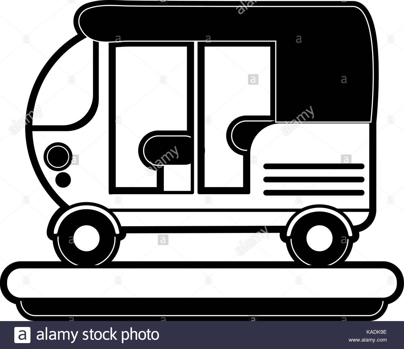 Auto Rickshaw Black and White Stock Photos & Images.
