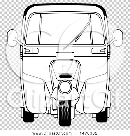 Auto rickshaw clipart black and white 9 » Clipart Station.