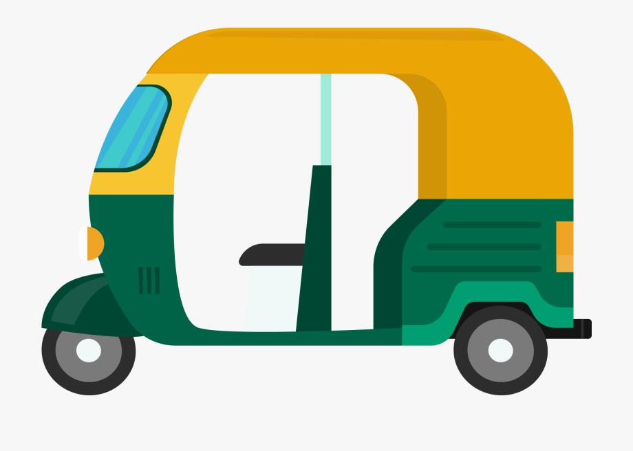 Auto Rickshaw Auto Clip Art, Cliparts & Cartoons.