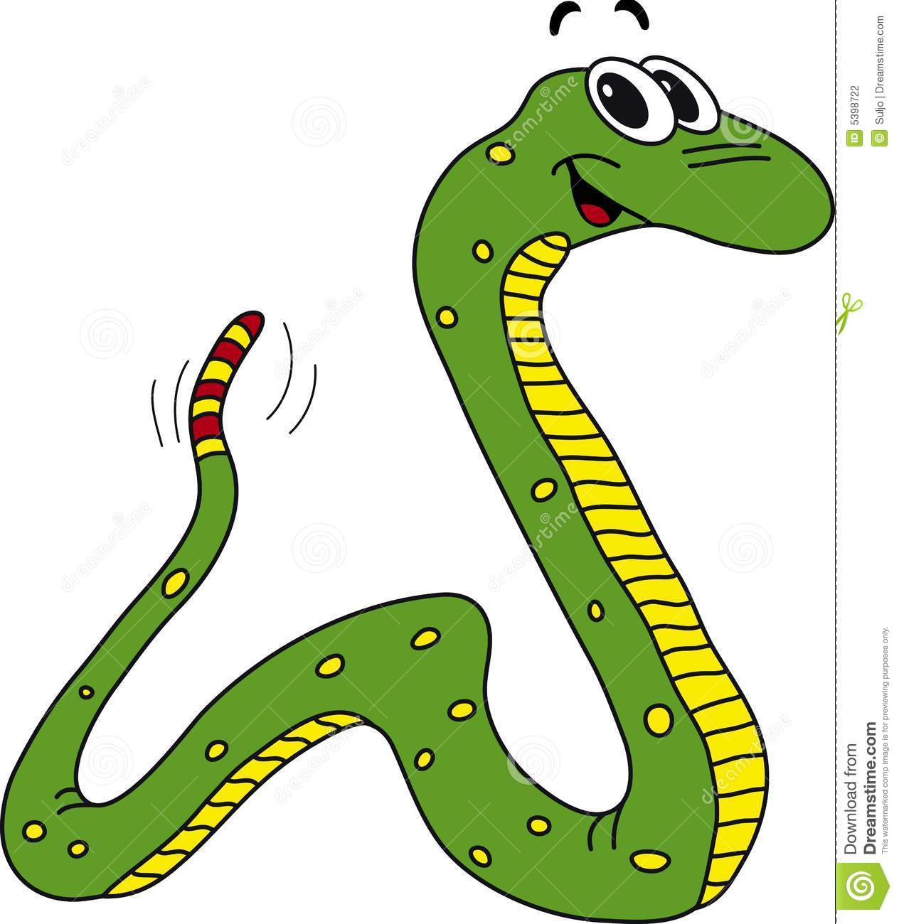 Rattler Drawing Clipart.