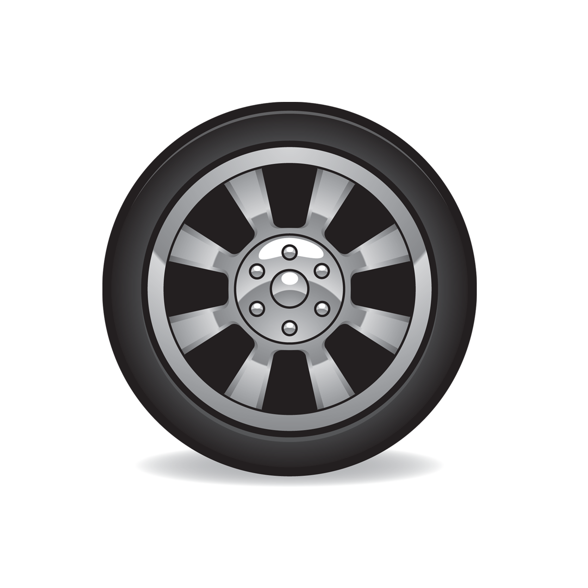 Car Tire Clipart.