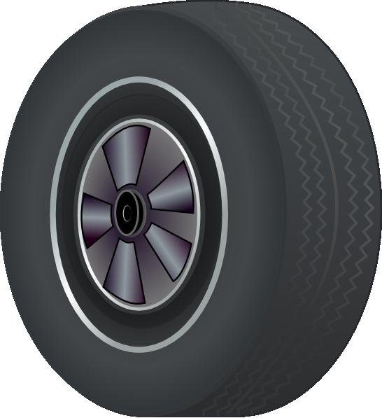 Auto Tires Clipart.