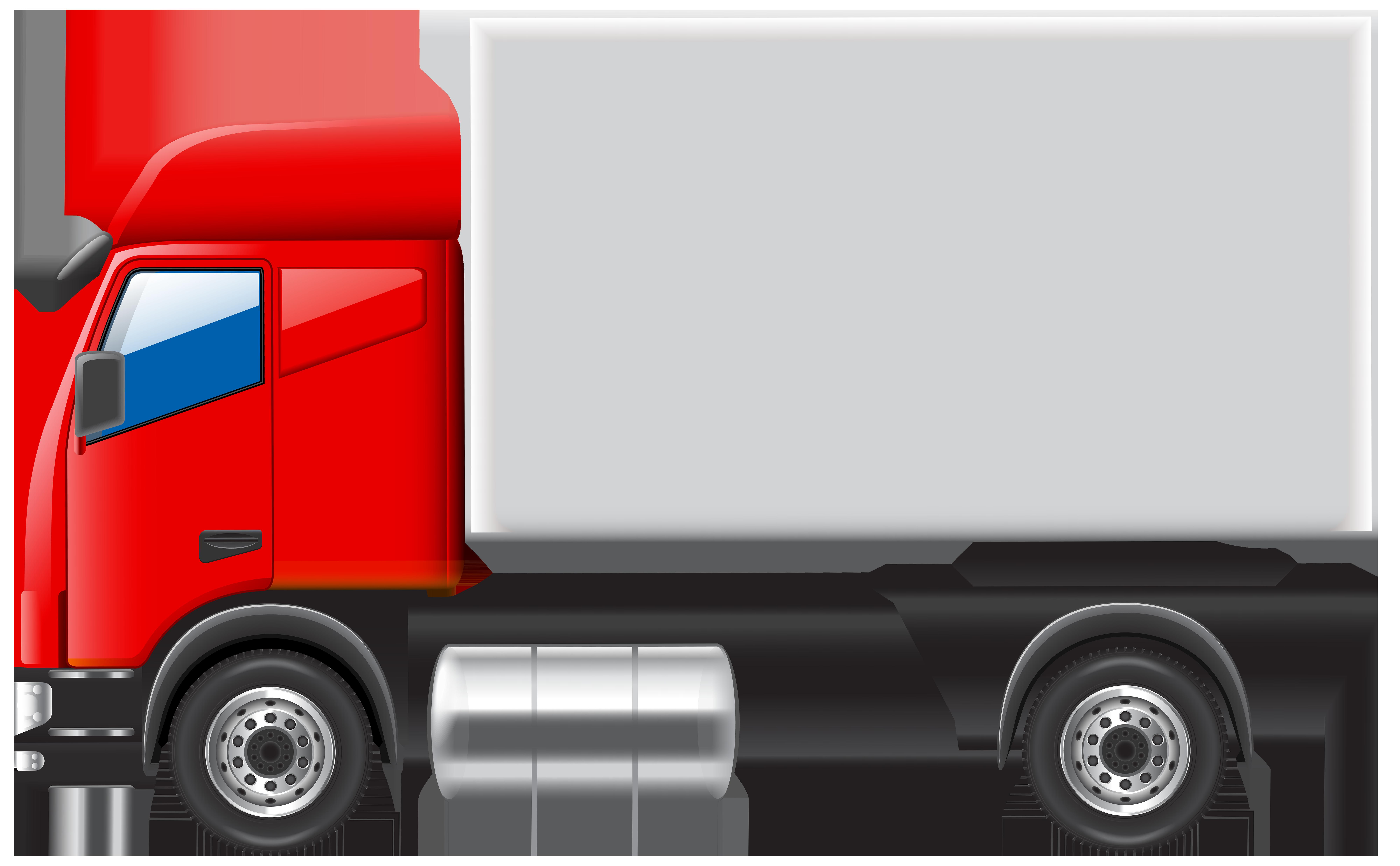 Truck PNG Clip Art.