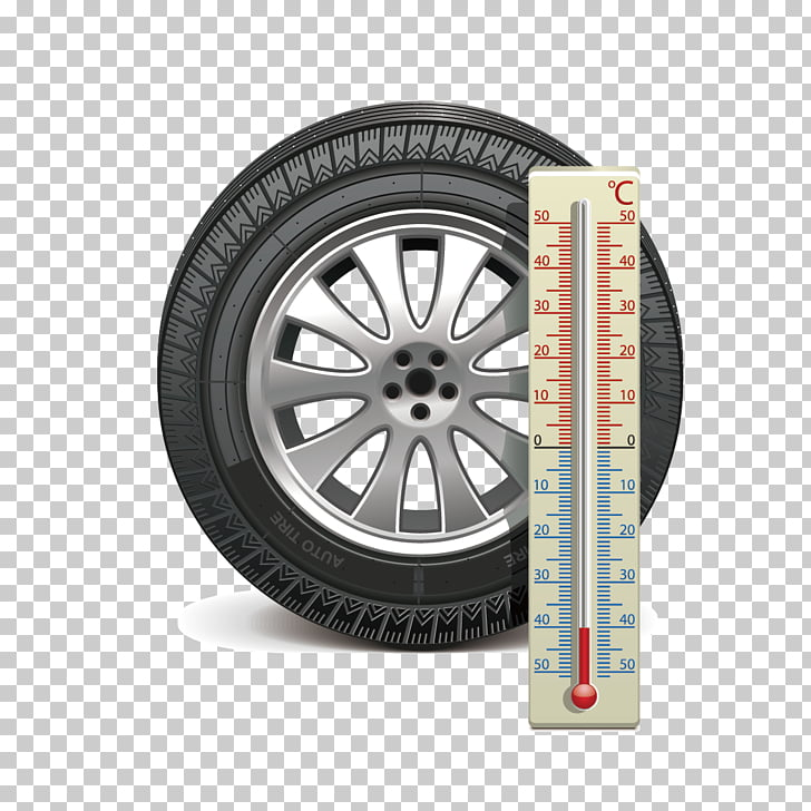 Car Snow tire Wheel, Tire inspection table PNG clipart.