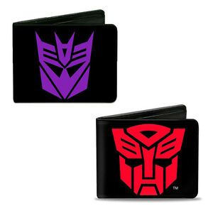 Details about Transformers Wallet Leather Bi.