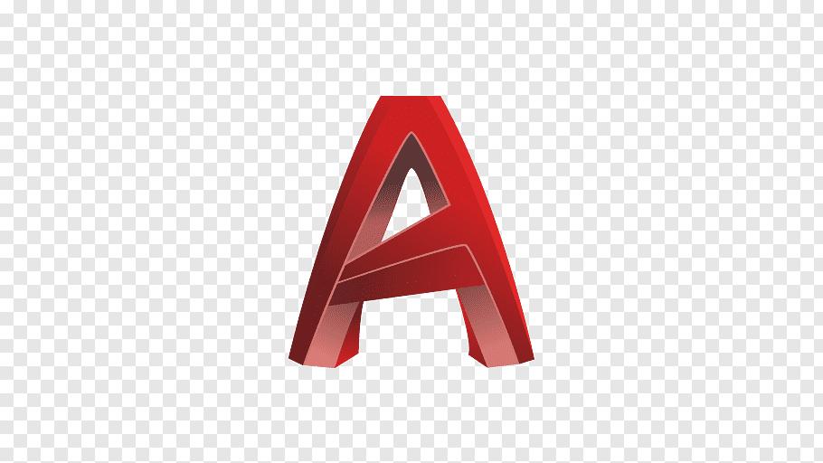 Letter A illustration, Autocad Lt Computer.