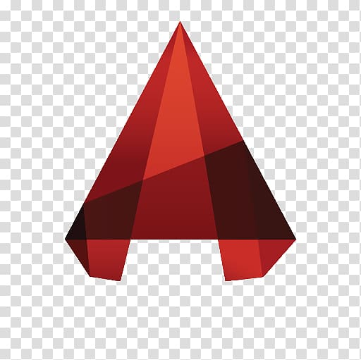 Red triangle illustration, AutoCAD Civil 3D Computer Icons.