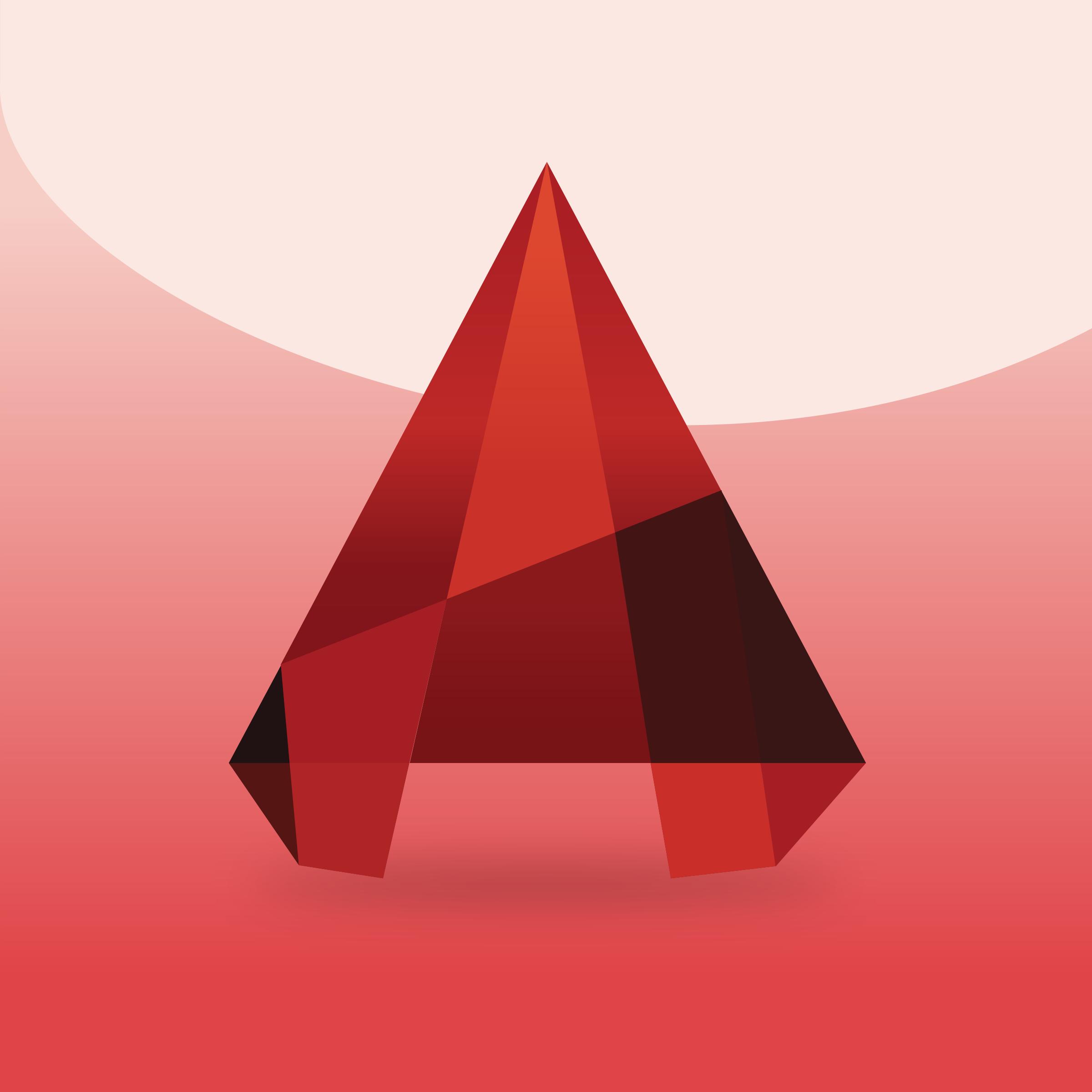 Autocad 2016 Icon Logo PNG Transparent & SVG Vector.