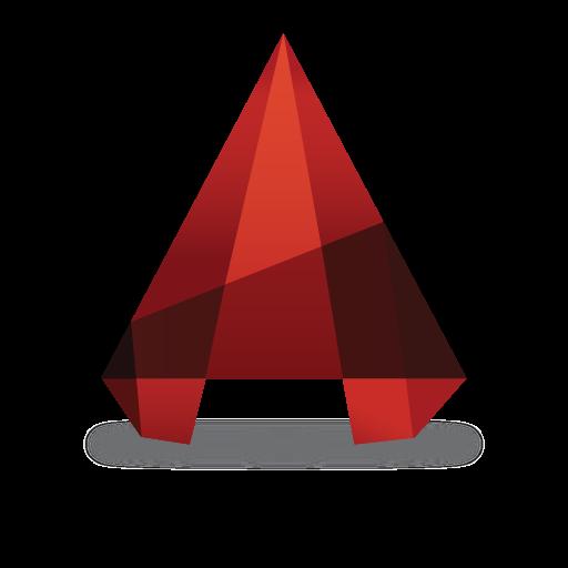 AutoCAD logo vector (.EPS, 715.51 Kb) download.