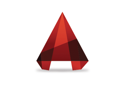 AutoCAD logo vector free.