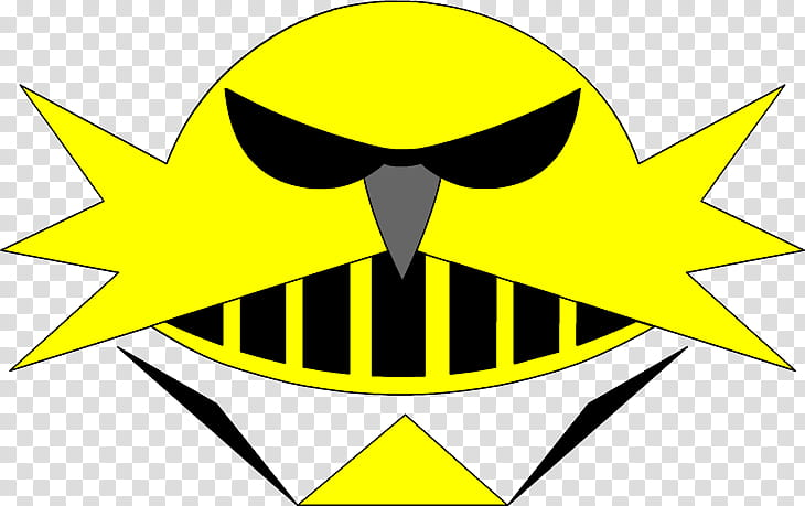 Eggman Nega Autocracy logo, yellow head illustration.