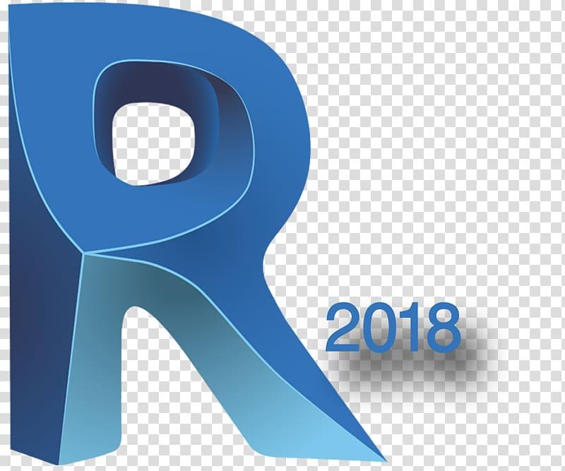 Revit 2018 logo, Autodesk Revit Building information.