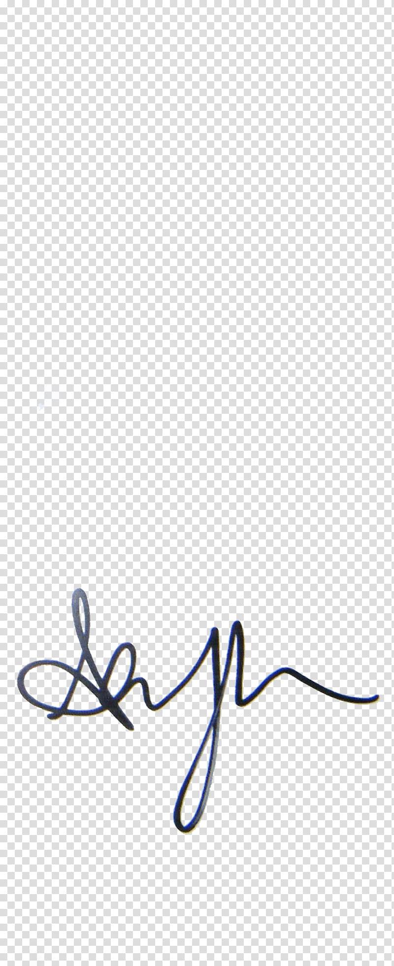 Signature S, ashley T autograph transparent background PNG.