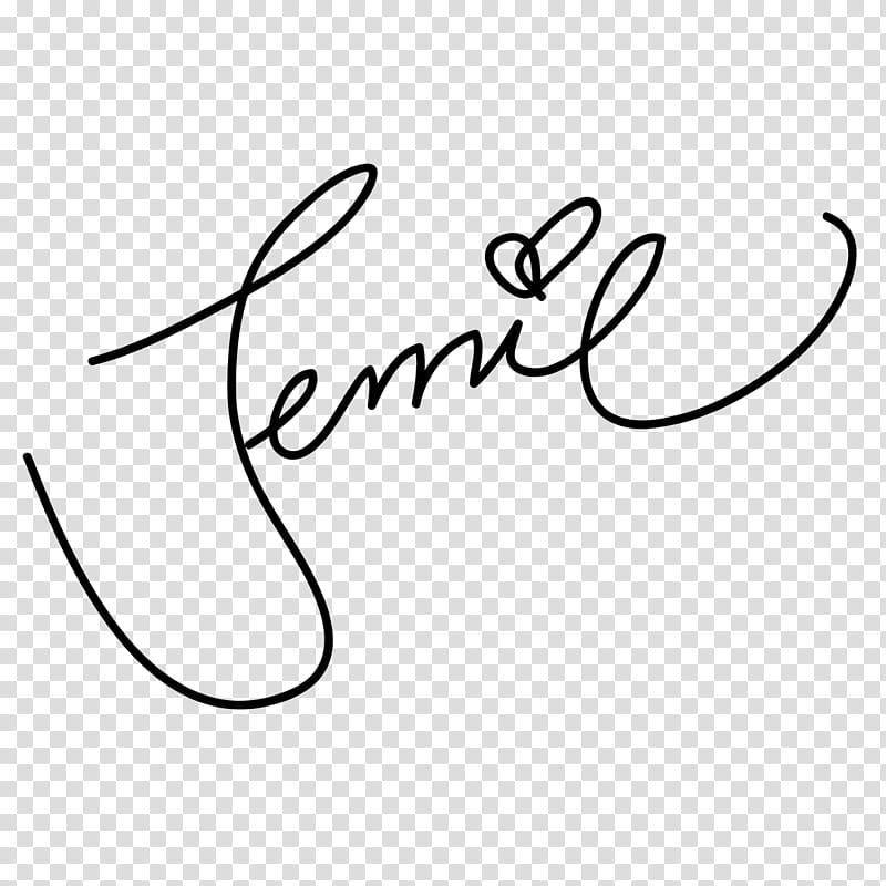 BLACKPINK AUTOGRAPHS BRUSHES S, Jemie text transparent.