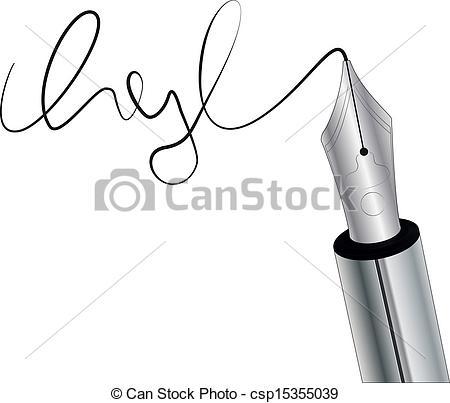Autograph 20clipart.