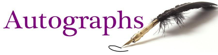 Autograph Clipart.