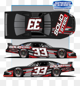 Modified Stock Car clipart.