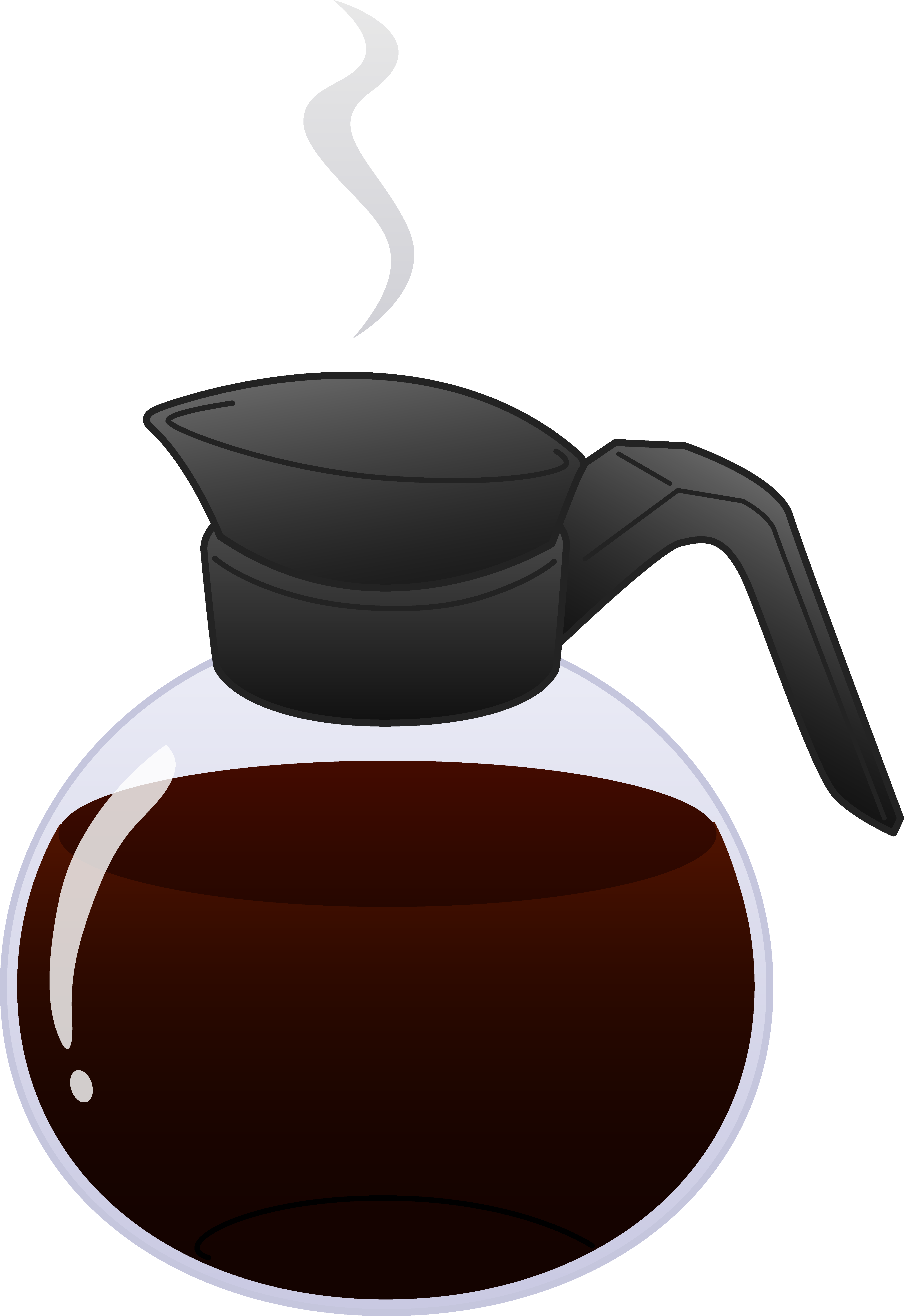 Coffee jugs clipart #3