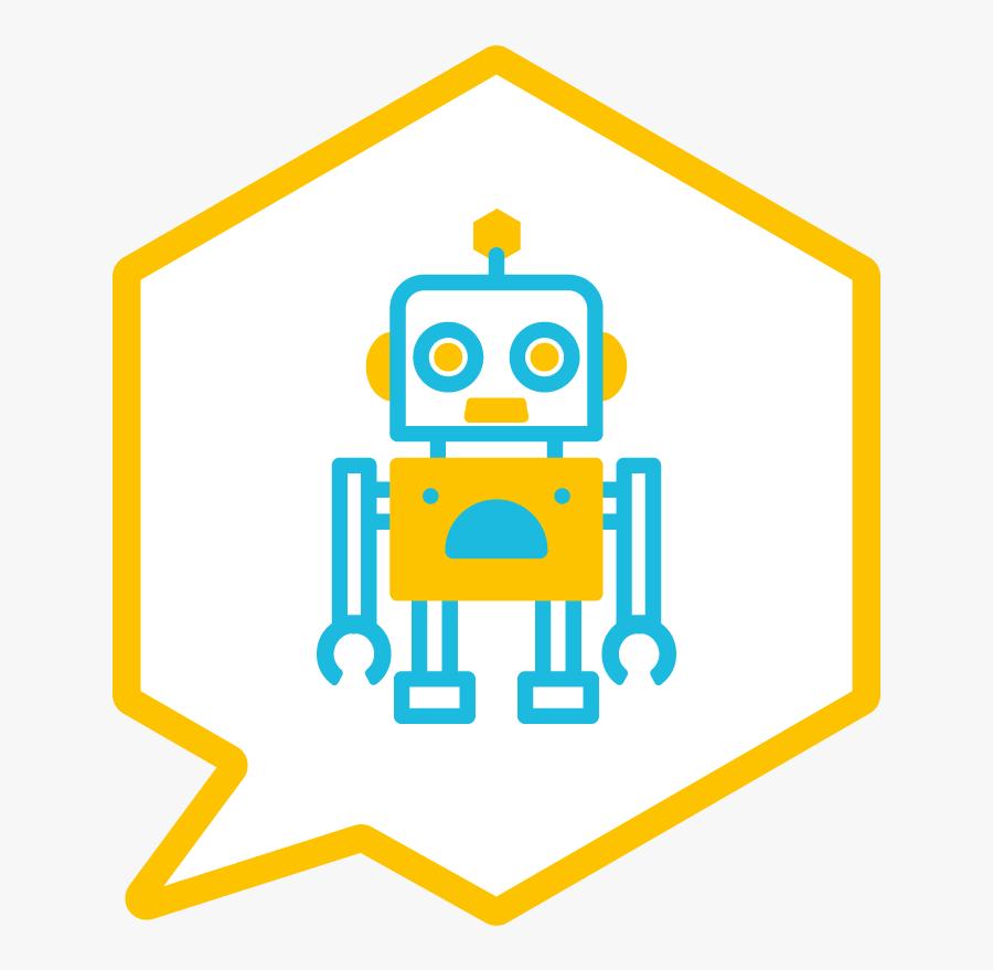Transparent Background Robot Clipart.