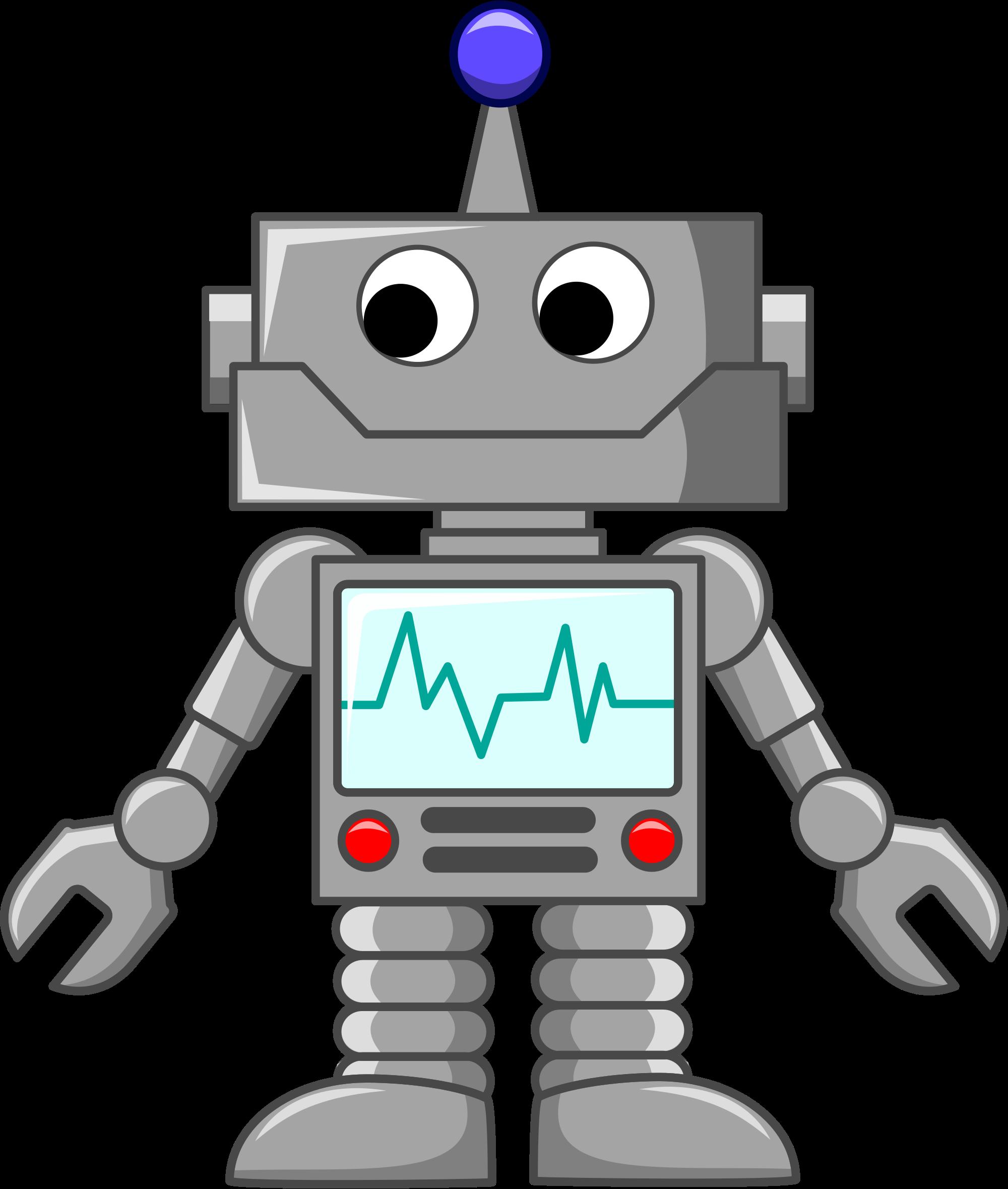 Caroon Robot.