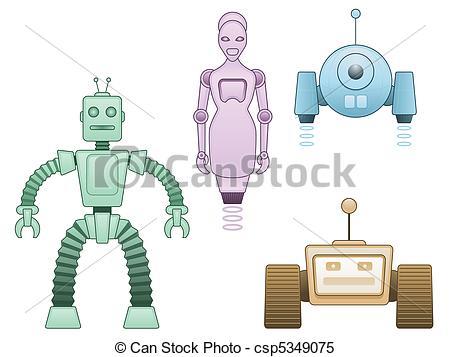 Automaton Vector Clipart EPS Images. 294 Automaton clip art vector.