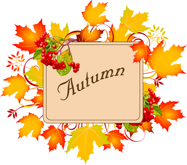 Autumn clipart borders.