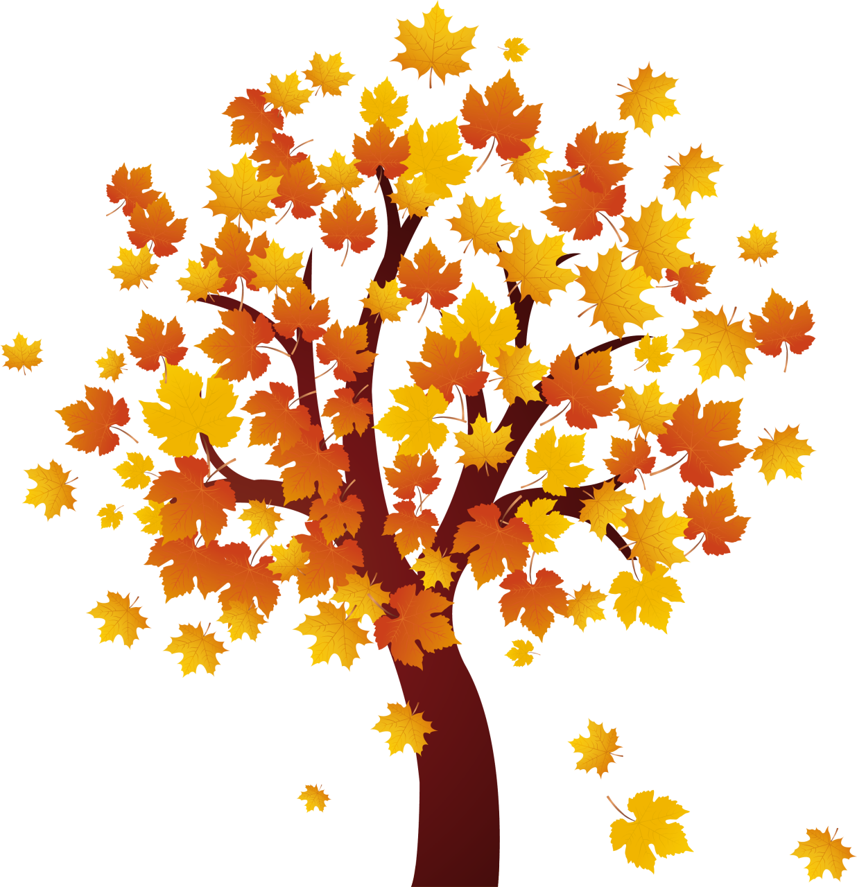 Clip art for autumn.