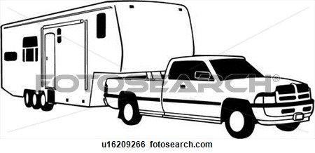 Automobile camper clipart - Clipground