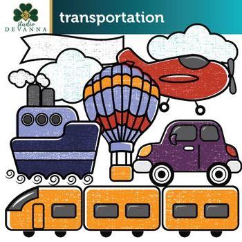 Free Transportation Clip Art.