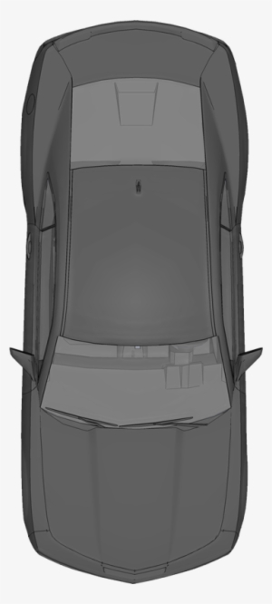 Car Top View PNG Images.