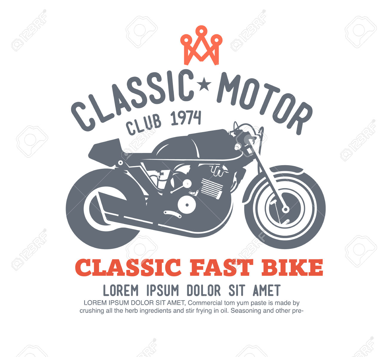 Logo Motor Club Vector. Royalty Free Cliparts, Vectors, And Stock.